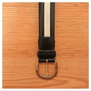 {Cale} Leather Belt, 42
